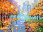 Осенний город купить