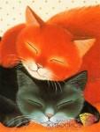 Спящие коты купить