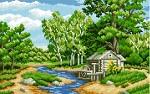 Лесная река купить