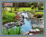 Ручей в саду купить